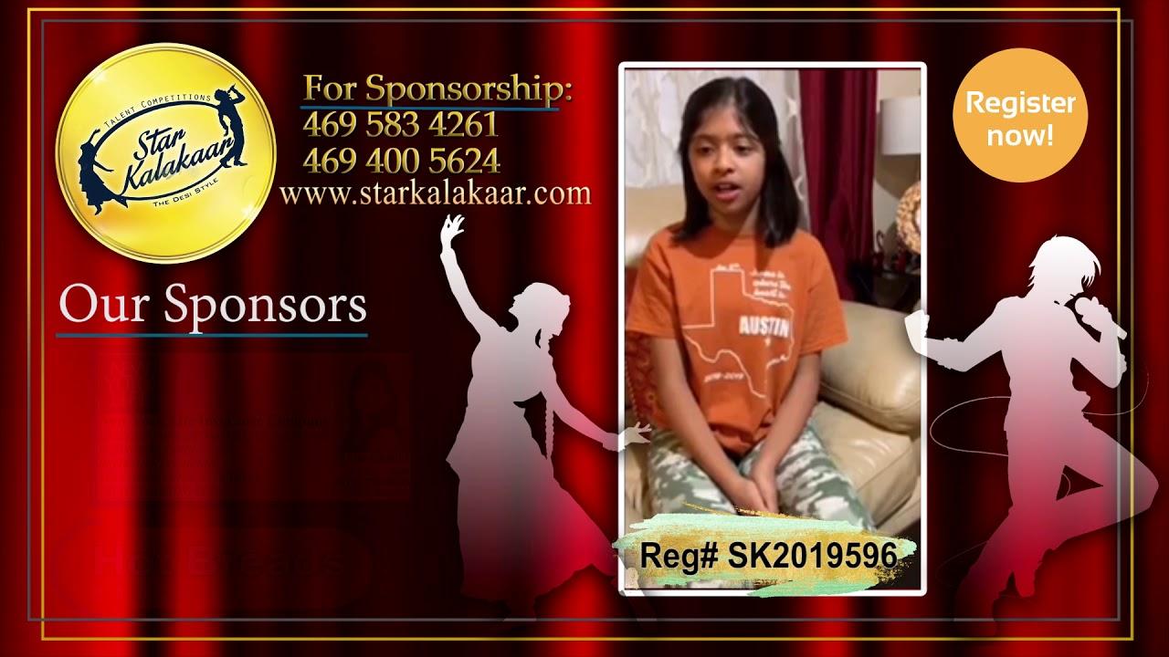 Registration NO - SK2019596 - Introduction Videos StarKalakaar-2019 #SK2019