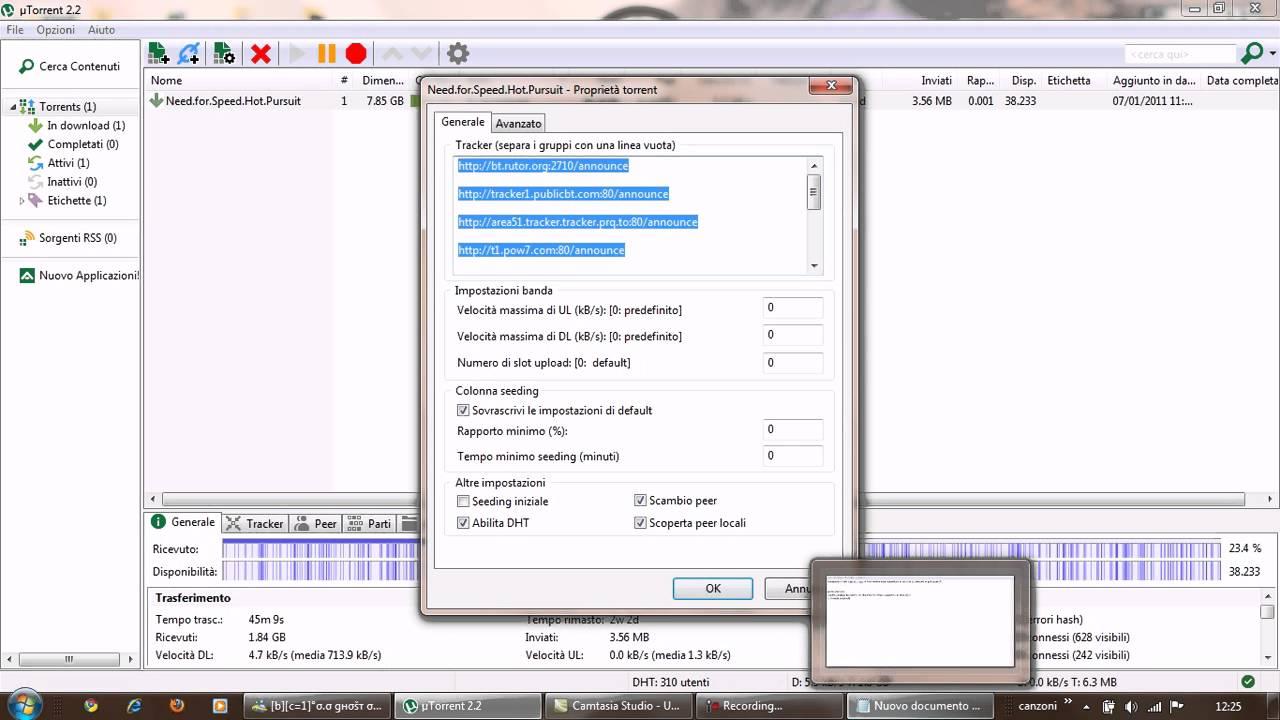 Come aumentare la velocit di utorrent state a vedere for Porte utorrent