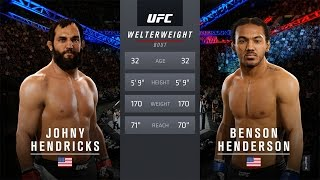 EA SPORTS UFC 2 Gameplay: Ben Henderson vs Johny Hendricks