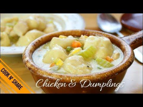 Delicious Chicken & Dumplings - Dinner In 30 Minutes