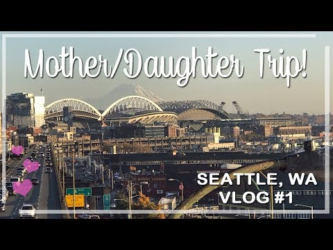 Seattle Mother/Daughter Trip Day One: American Girl Store & Other Shenanigans!