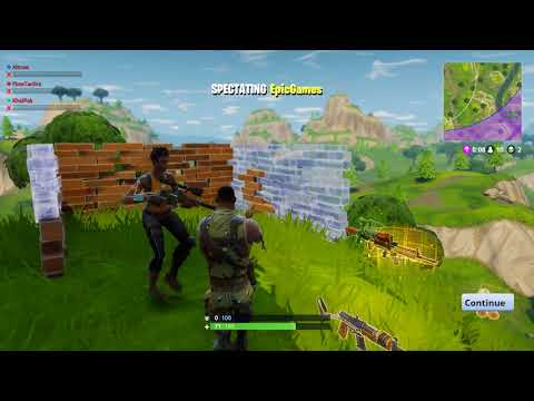 Fortnite Hacker called EpicGames