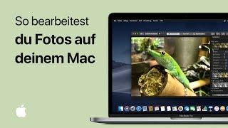 So bearbeitest du Fotos auf deinem Mac