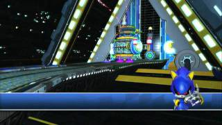 Sonic & Sega All-Star Racing: Death Egg and Shibuya Downtown (Metal Sonic)