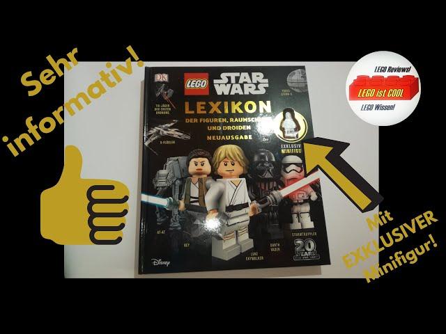 LEGO Star Wars-20 Jahre Jubiläums Edition Lexikon der Figuren Raumschiffe und Droiden!