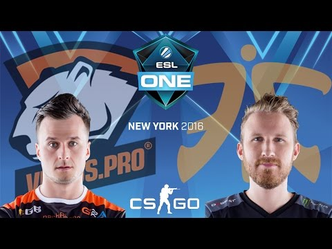 ESL One New York 2016 - Virtus.Pro vs. Fnatic (Cbble) - Narração PT-BR