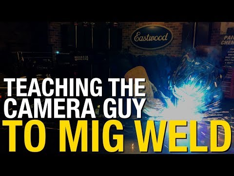 Beginner's Guide To MIG Welding.  Everything you need to Get Started & More!