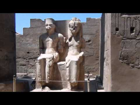 Photo Slideshow in Egypt of statues and hieroglyphics