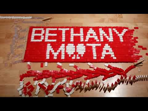 Domino ScreenLink from Bethany Mota's  Need You Right Now  Lyric Video