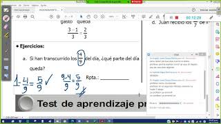 Fracciones II Planteo 6p
