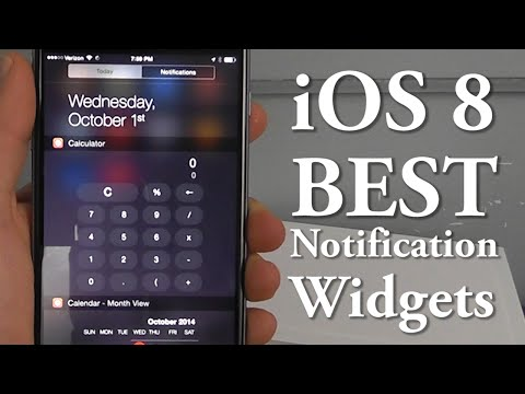 Best Notification Center Widgets for iOS 8 – Top 10 List