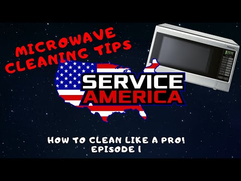 How to clean like a pro! Episode 1 Microwaves - Portland Janitorial Management