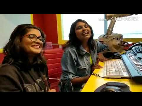 Rapid fire round with RJ Swathi at Radio Mirchi Station, Hyd