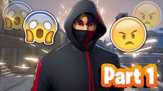 Toxic Fortnite Fill Players React to The Ikonik Skin & Scenario Emote (Part 1)