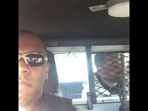 Ride along with Amiri King and Officer Baker