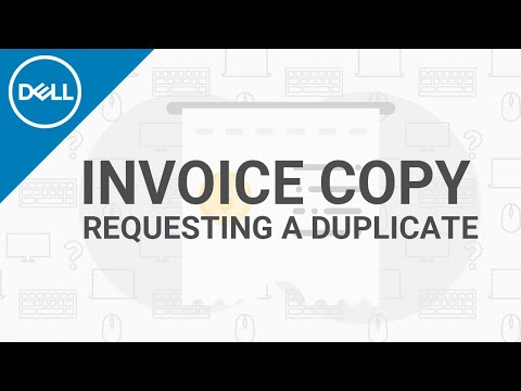 How To Get Invoice Copy From Dell (Official Dell Tech Support)