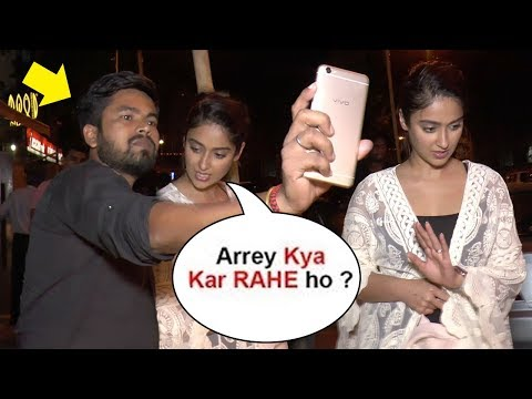Ileana D'Cruz Gets ANGRY On A Fan For Touching While Taking Selfie