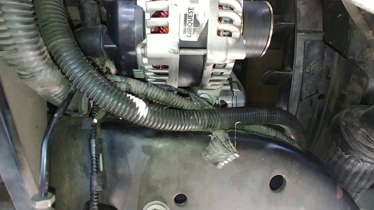 6 4l Powerstroke 200 Amp Alternator Upgrade