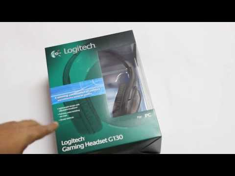 LOGITECH GAMING HEADSET G130 UNBOXED AND REVIEWED