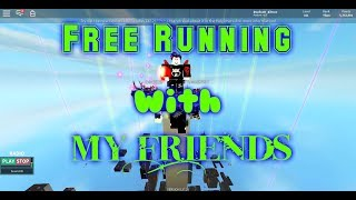 Roblox Parkour : Free Running Avec zHyperSky, Schanppchat, Bocill19 - iTzMeID567 - RIP ME AGAIN