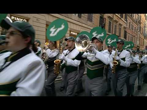 American Marching Bands in Rome Italy
