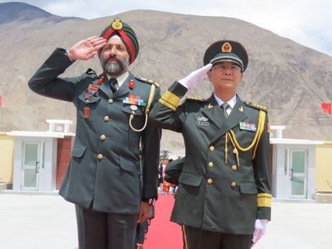 India And China Hold Ceremonial Border Personnel Meeting !!!
