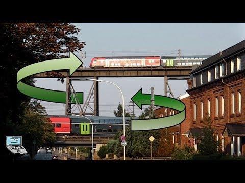 Doppelter Bahnverkehr a.d. Rendsburger Hochbrücke: Kreuzungspunkt mit BR 112, 648, Hectorrail, ... von YouTube · Dauer:  7 Minuten 47 Sekunden