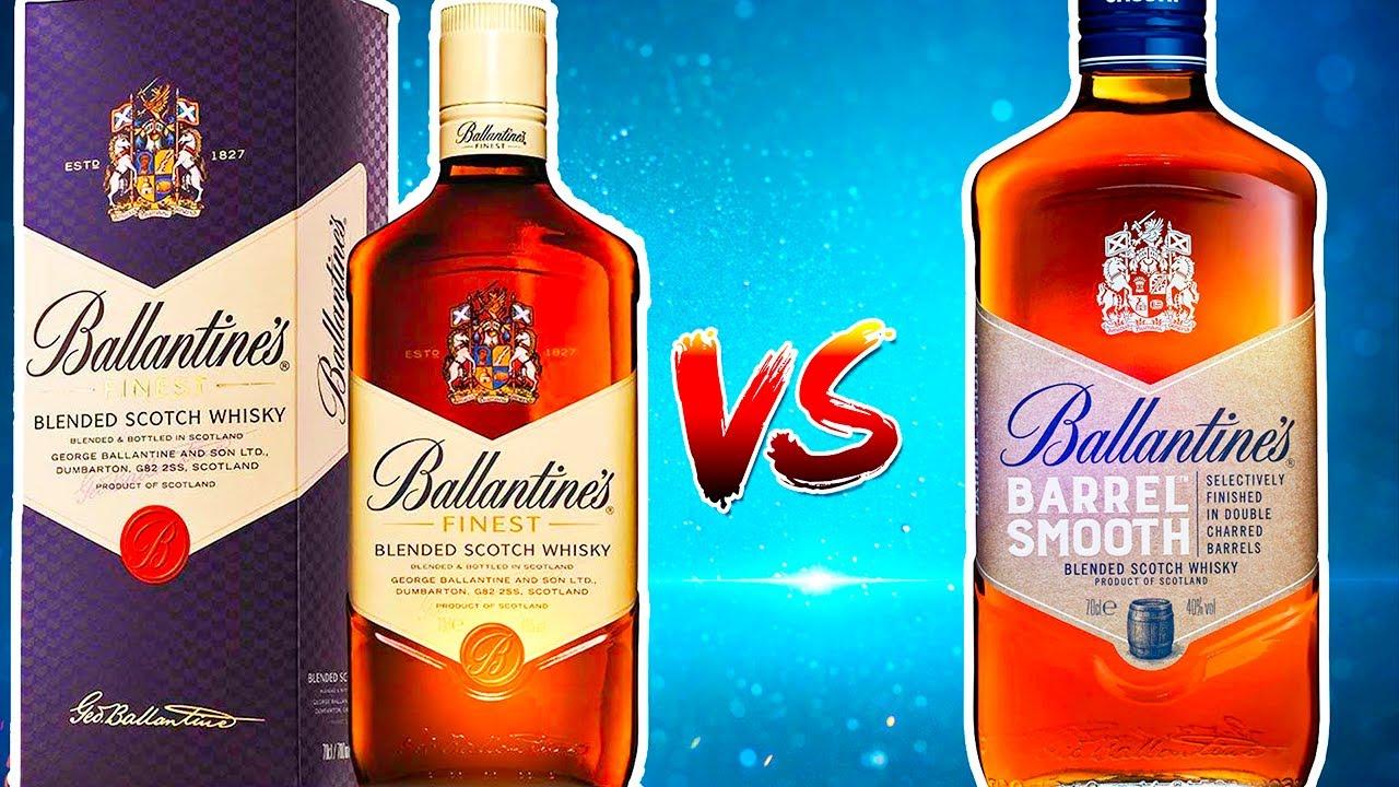 Ballantines Barrel Smooth vs Ballantines Finest - Обзор и сравнение виски