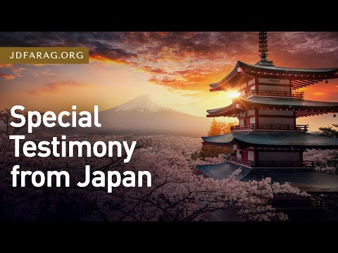 Special Testimony from Japan – Thursday, May 13th, 2021