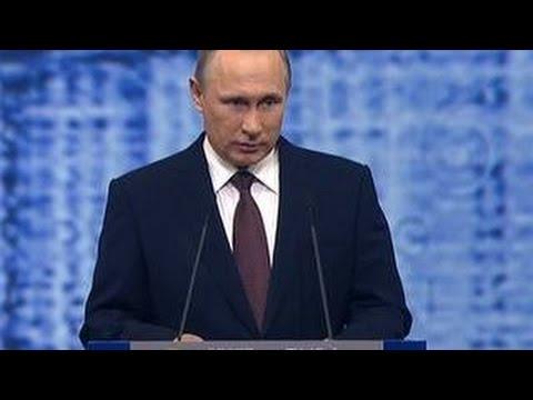 Путин рассказал о трансформации мира и глобальной экономике
