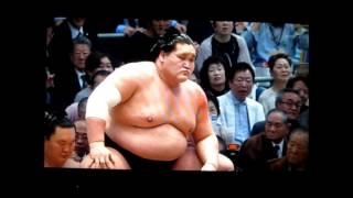 照ノ富士vs琴奨菊 平成27年大相撲春場所 Terunofuji vs Kotoshogiku SUMO.