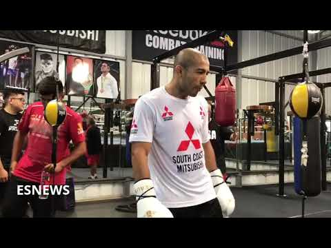 JOSE ALDO Ready For Any Champ MMA or Boxing