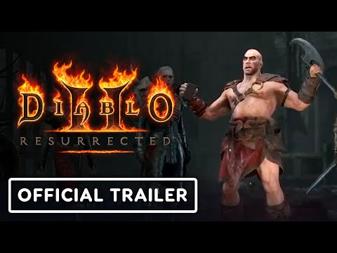 Diablo 2: Resurrected - Official Reveal Trailer | BlizzConlin 2021