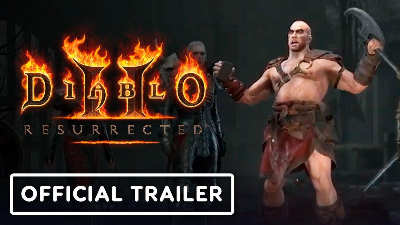 Diablo 2: Resurrected - Official Reveal Trailer   BlizzConlin 2021 - YouTube