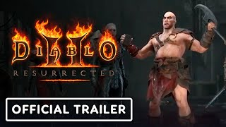 Diablo 2: Resurrected - Official Reveal Trailer | BlizzConlin 2021