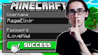 So I Hacked RageElixir's Minecraft Account... (Realms SMP S4 E8)