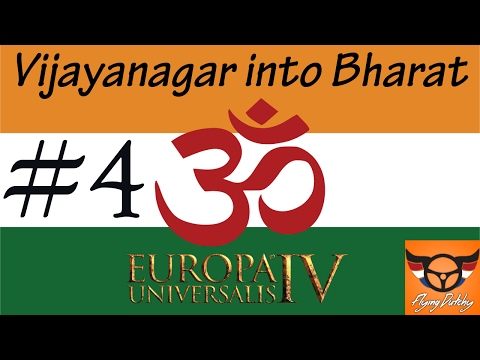 EU4 - Vijayanagar into Bharat achievementrun - ep4