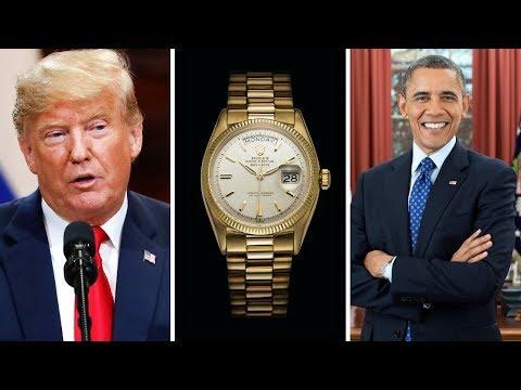 Watches Of US Presidents Part II  (Trump, Clinton, LBJ, & More)