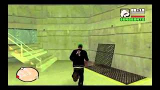 How to enter the military base in Grand Theft Auto San Andreas