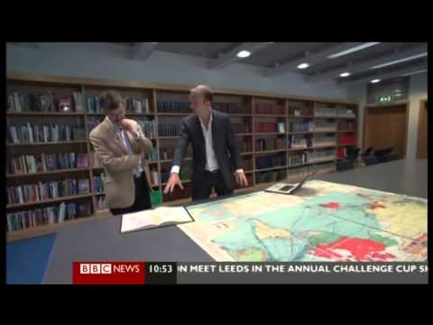 BBC News about the Mercator projection and Google Maps (broadcast August 2012?)