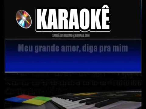 Karaokê Zezo Dos Teclados- Diga Pra Mim