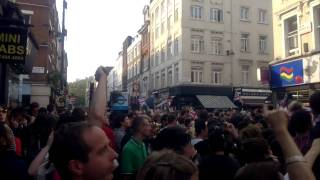 Royal Wedding: After party - Street Party - Soho - God Save the Queen - Nokia N8