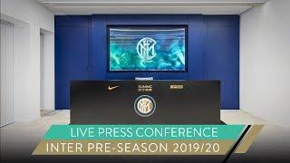 GIUSEPPE MAROTTA AND ANTONIO CONTE | LIVE PRESS CONFERENCE | INTER PRE-SEASON 2019/20