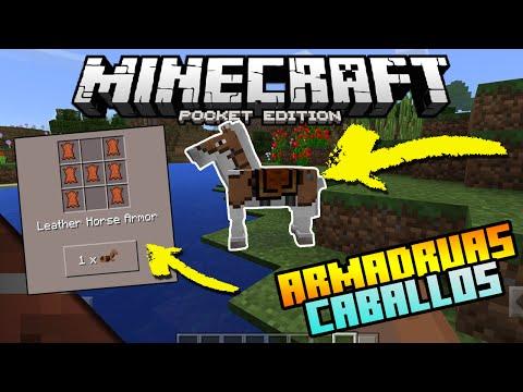 Noticias Minecraft PE (Pocket Edition) 0.15.0 | Armaduras de Cuero Caballos | Jason