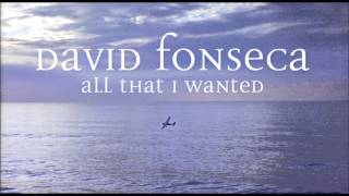 """All That I Wanted"" David Fonseca"