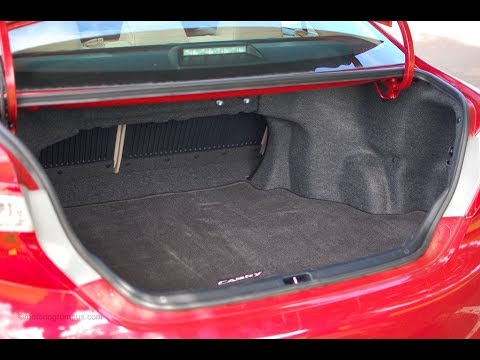 trunk latch diagnosis repair 2012 toyota camry youtube. Black Bedroom Furniture Sets. Home Design Ideas