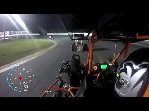 Can-Am Midgets A- Main #2 @ Sunset Speedway   May 18th, 2019 - David Miller Onboard
