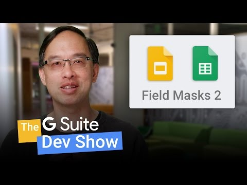 Using field masks with update requests to Google APIs