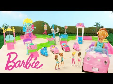 Barbie™ On the Go Car Wash Is On the Track to Fun | Barbie