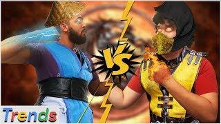 Mortal Kombat Challenge: We Suck At Geography - Google Trends Show